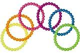Schnooridoo 12 Neon Armbänder Bracelet Mitgebsel Kindergeburtstag