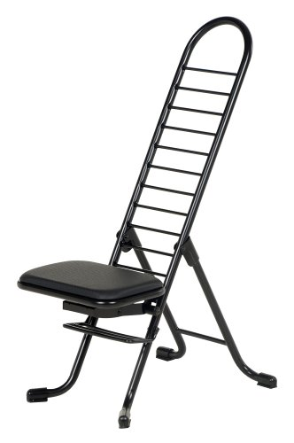 Vestil CPRO-600 Ergonomic Worker Chair, 220 lb. Capacity, 14' x 9' Seat, 13' - 34' Height Range