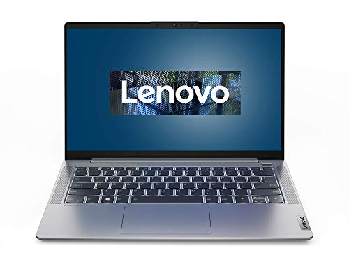Lenovo IdeaPad 5 Laptop 35,6 cm (14 Zoll, 1920x1080, Full HD, WideView, entspiegelt) Slim Notebook (AMD Ryzen 5 5500U, 8GB RAM, 512GB SSD, AMD Radeon Grafik, Windows 10 Home) silber