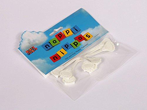 /Blau 3/Pack Alternative zu Pins Nappi Nippas Windelverschl/üsse/