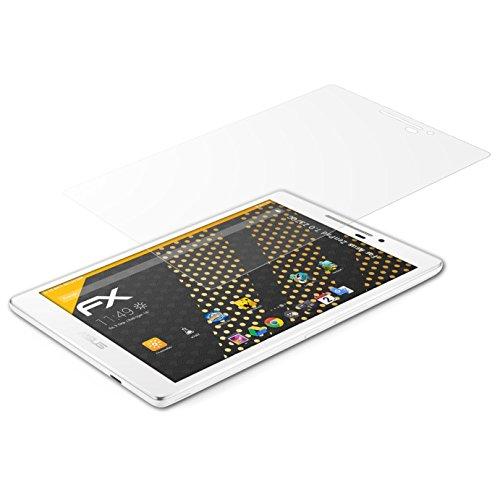 atFolix Panzerfolie kompatibel mit Asus ZenPad 7.0 Z370C Schutzfolie, entspiegelnde & stoßdämpfende FX Folie (2X)