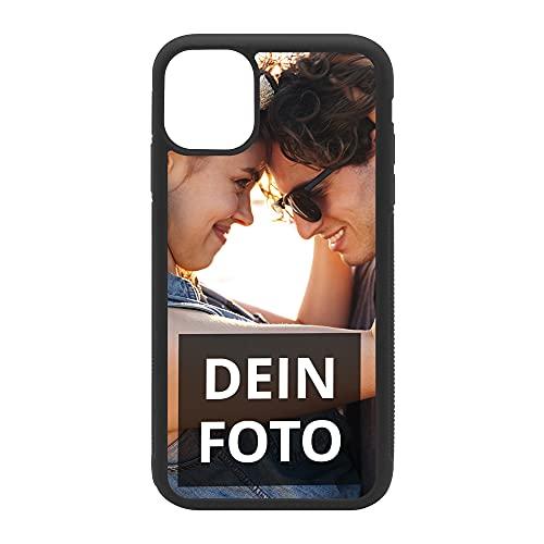PhotoFancy Handyhülle iPhone® 11 Handyhülle mit eigenem Foto Bedrucken – Smartphone Hülle als personalisierte Schutzhülle (Softcase)