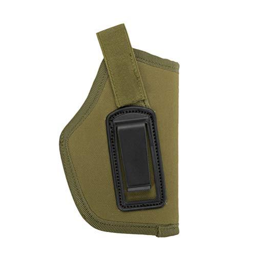 VOSAREA Funda Protectora de Pistola Bolsa para Pistola Funda de Armas de Caza (Verde del ejército)