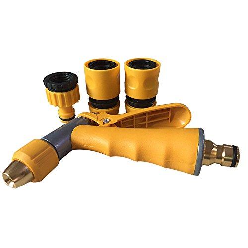 Boquillas y pistolas pulverizadoras Pistola de agua Suministros for el jardín Equipos for el cuidado del césped Pistola pulverizadora de alta presión for uso doméstico Adecuada for el riego del jardín