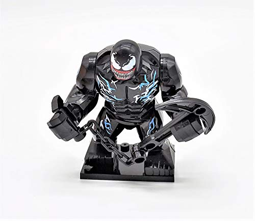 Prodigy Toys Venom Action Figure with Devastating Weapon (Featuring Eddie Brock's Transformation to Venom, with Interchangeable Heads)