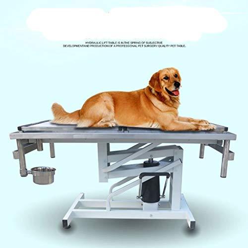 QNMM Mesa de Operaciones para Perros Mesa de Operaciones para Mascotas con...