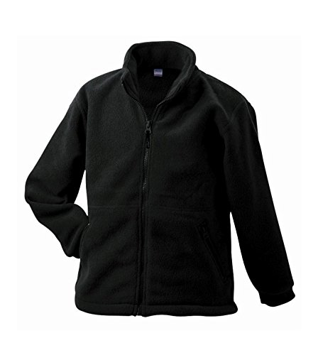 2Store24 Full-Zip Fleece Junior in Black Size: XXL