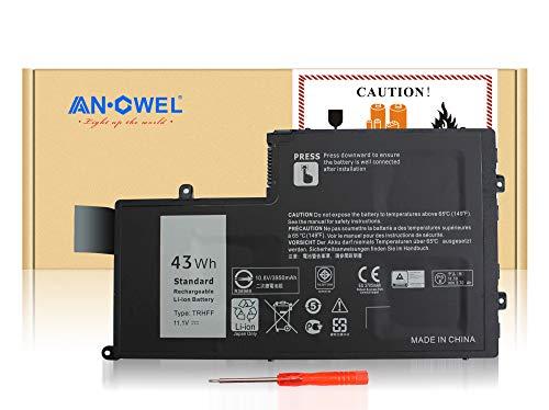 Angwel 11.1V 43WH TRHFF Battery for Dell Inspiron 14-5447 15-5547, Dell Latitude 15 3550, 1v2f6 dl011307-prr13g01 01v2f6 0PD19