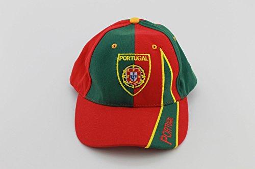 Caps Base bonnet casquette Vert/Rouge Portugal