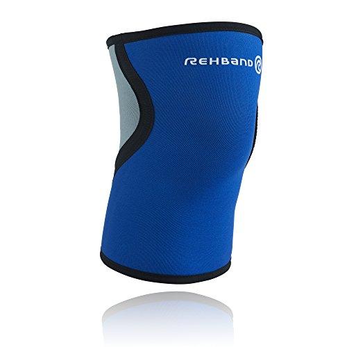 Rehband Herren Kniebandage 7953, blau, XL