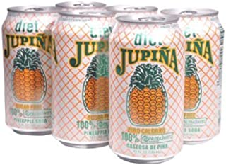 Diet Jupina Pineapple Soda 6PK