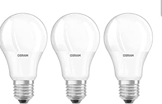 OSRAM LED Frosted Bulb 12w - Screw Base E27, 3000k - 950 lm, Warm White (Pack of 3)