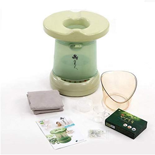OKMIIN Far infrared ray Mugwort Steam Seat Steamer Ergonomic Massage Face Underbody Massager product image
