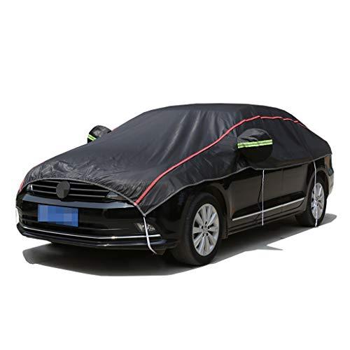 Fundas para coche Cubierta de coches compatible con AstonMartin DBX, cubierta a prueba de agua a prueba de agua, cubierta de parabrisas gruesa, cubierta de espejo de algodón de lana ( Color : Black )