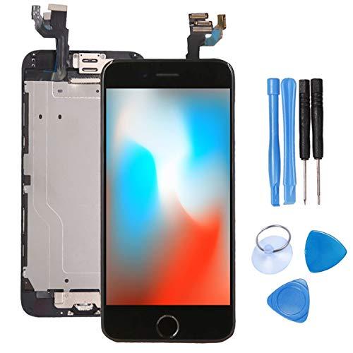 recyco Für iPhone 6 Display Vormontiert Schwarz 4.7