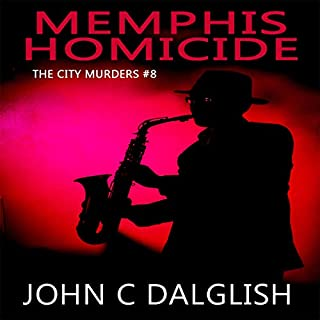 Memphis Homicide (Clean Mystery Suspense) audiobook cover art