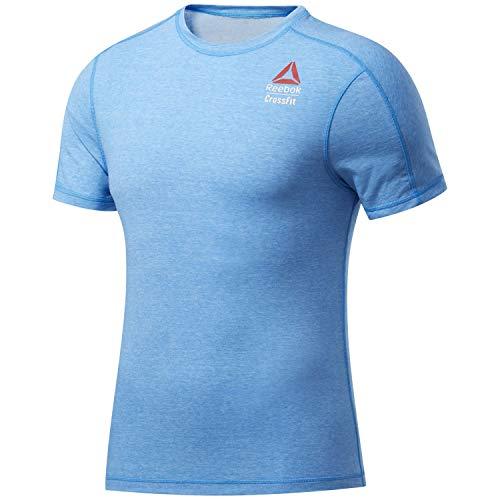 Reebok RC AC + Cotton tee Games Camiseta, Hombre, horblu, XL