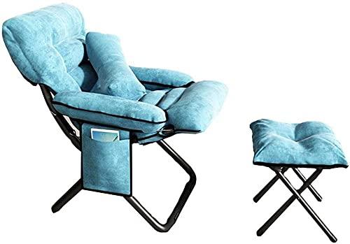 Schreibtischstühle Bürostuhl mit Armen faltbar ergonomischer Entwurf Hoher Rückenlehre mit passender Fußhocker kniender Stuhl