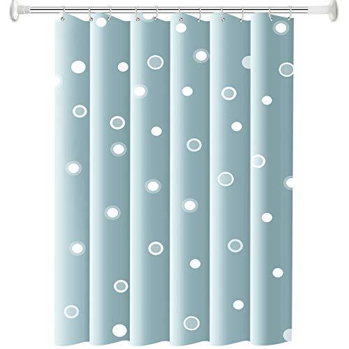 CXL Polyester Duschvorhang, verdickter wasserdichter & schimmelresistenter Duschvorhang, hygienischer Trennvorhang