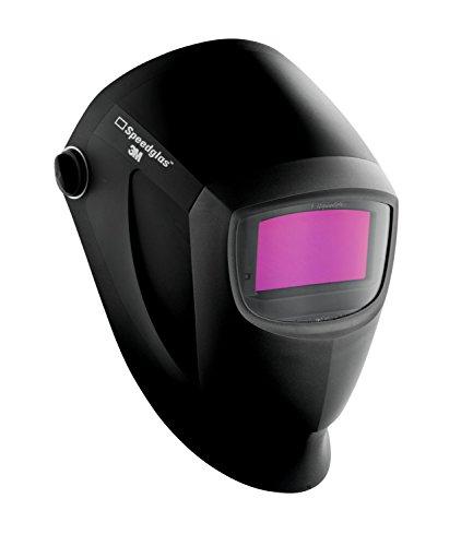3M Speedglas 7100116824 Máscara de Soldadura automática, tecnología de Punta con Aspecto de Color Real, diseño premiado, 55 x 107 mm, Negro