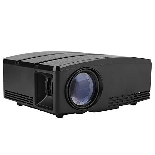 3D LED Projektor, mit einer Fernbedienung 1080P Projektor, tragbar und leicht(European standard 110-240V)