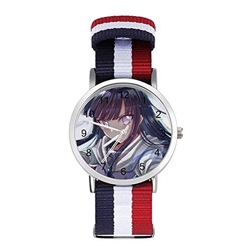日向ヒナタ 腕時計 人気 時計セット うで時計 カップル時計 薄い 軽い ナイロンベルト 防水時計 シンプルウオッチ サプライズ プレゼント ユニセックス 腕時計 記念日 プレゼント