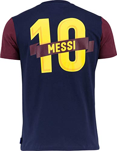 Fc Barcelone Camiseta de algodón Barça - Lionel Messi - Colección Oficial Talla niño 10 años