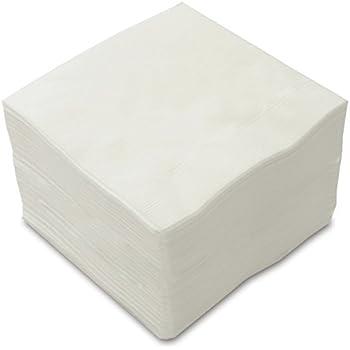 カラー4折2プライペーパーナプキン「白無地」(50枚)