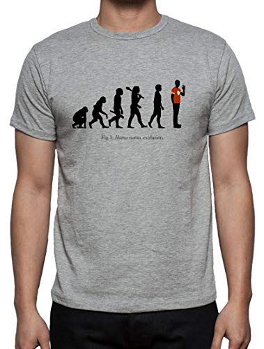 Camiseta de Hombre The Big Bang Theory Sheldon Bazinga Penny Leonard 029 S