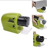 Rishx Afilador de Cuchillos eléctrico Multifuncional Portátil Cuchillo de Afilado Inteligente Inteligente Piedra Profesional Afilado Manual para Cuchillos de Cocina