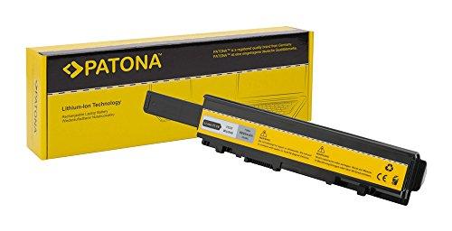 PATONA Batteria per Laptop Notebook dell Studio 1535 | 1536 | 1537 | 1555 | 1557 | 1558 - [ Li-Ion; 6600mAh;Nero]