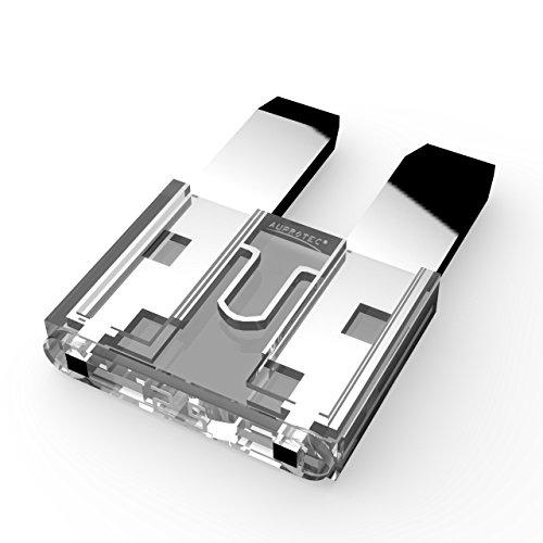 AUPROTEC Mini Flachstecksicherung 2A - 30A Stecksicherung Schmelzsicherung Auswahl: 25A Ampere weiß, 5 Stück