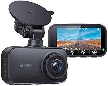 AUKEY Dash Cam 1080P FHD Car Camera Supercapacitor 170 Wide Angle Dash Camera for Cars 2 7 Inch product image