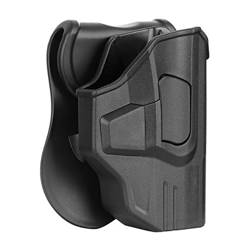 S&W M&P Shield 9mm OWB Paddle Holster Fits Smith & Wesson M&P Shield...