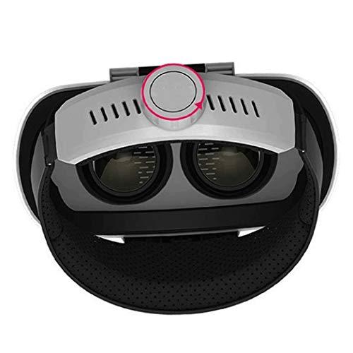 JYMYGS VR Brille, HD 3D Virtual Reality Brille, für 3D Film und Spiele, Geeignet 4,0-6,0 Zoll Smartphone Handy für iPhone SE 6/6s/7/8/X/XS, Samsung Galaxy S6/S7/S8/S9, Huawei p10/p20. N032JL