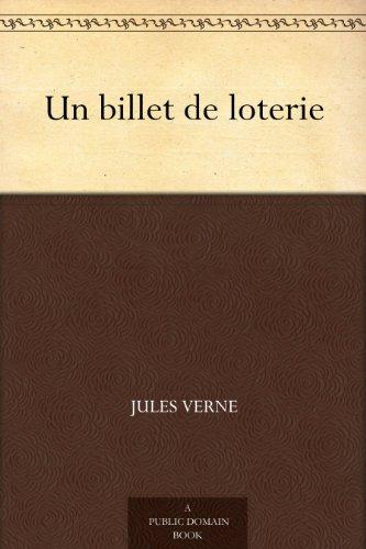 Couverture du livre Un billet de loterie