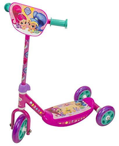 Shimmer and Shine 2641 Saica - Patinete, 3 Ruedas