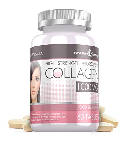 Evolution Slimming 1000mg Hydrolisiertes Kollagen 60 Tabletten