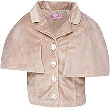 Cutecumber Girls Valour Embellished Beige Top. AM-2757A-BEIGE-
