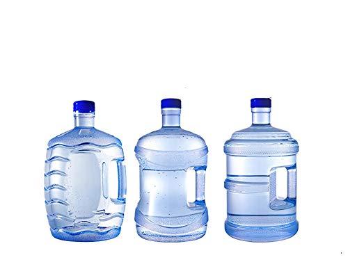 LPLND Bidones Agua Cubos de Grado alimenticio Pure barriles de Agua Mineral de barriles de Casas móviles Potable Cubo de Agua embotellada contenedor de Almacenamiento 7.5L Cubo vacío (Size : B)