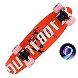 Skateboard/Variety Choice/Maple Big Fish Board Adulto Chica Pequeño Fish Board Principiante Scooter LJJOZ (Color : B)