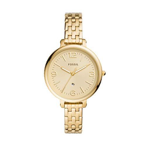 Fossil - Reloj de Cuarzo de Acero Inoxidable para Mujer ES4945