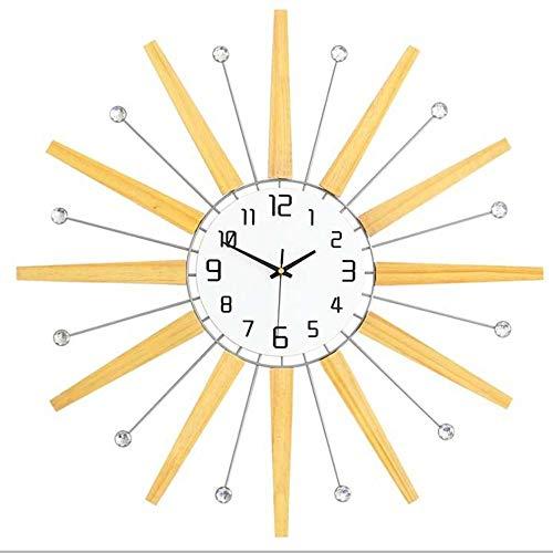 XinMeiMaoYi Reloj de pared reloj de pared de moda creativo decorativo reloj electrónico de cuarzo D65cm
