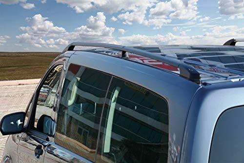 Dachreling passend für Mercedes V-Klasse Extra Lang W447 ab Baujahr 2014 in Schwarz mit TÜV und ABE