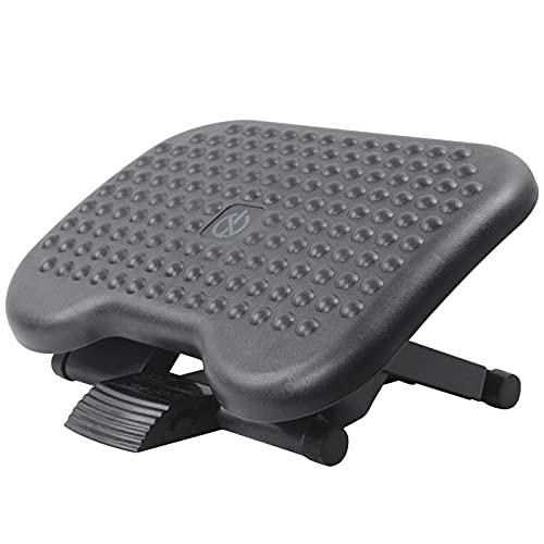 AKOZLIN Adjustable Under Desk Footrest Comfy Rest, Ergonomic Foot, Pressure Relief for Comfort Home, Office