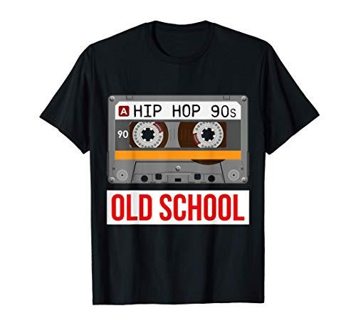 Alte Schule Hip Hop Kassette Rap Musik Liebhaber T-Shirt