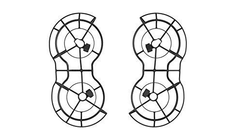 DJI Mini 2 Protector para Hélices 360º - Protección de Drones, Accesorio de Seguridad de Vuelo, Tiempo de Vuelo 18 Minutos, Parahelios Circulares - Negro