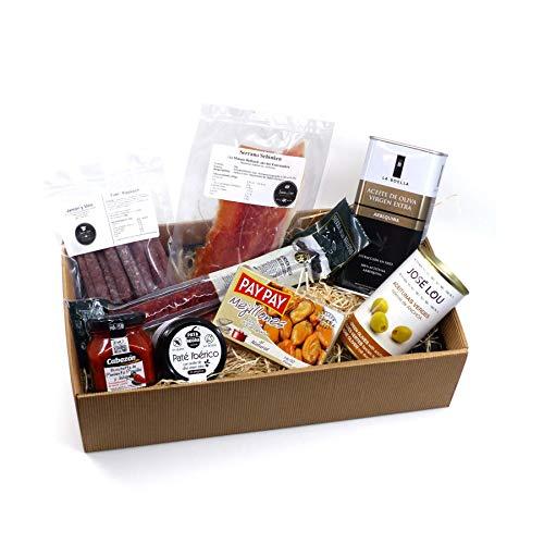 Geschenk-Box Schlemmerbox mit spanischen Feinkost Delikatessen