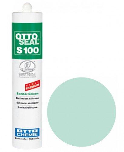 OttoSeal S100, das Premium- Sanitär- Silicon, 300ml Farbe: C40 MINT