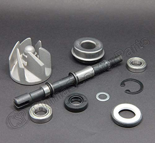 Zereff Parts & Accessories Water Pump Kit for 250Cc ATV Quad Kazuma Cougar Gator Falcon 250 Cn250 Cf250